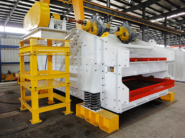 High frequency dehydration vibrating screen